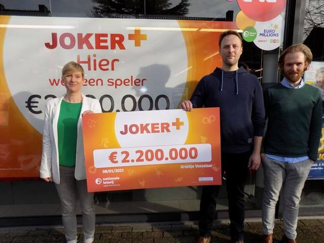 """Klant 't Krantje wint 2,2 miljoen euro: """"Ik ga een tuinman aannemen"""""""
