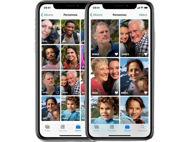 Comment identifier des visages sur votre photothèque iOS ?