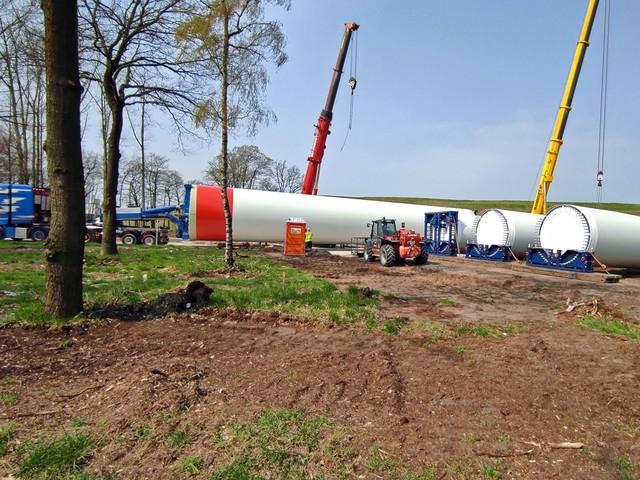Bouw van windturbines in Pelt in volle voorbereiding