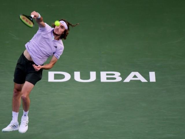 Tennis: Tsitsipas qualifié pour les demi-finales à Dubaï