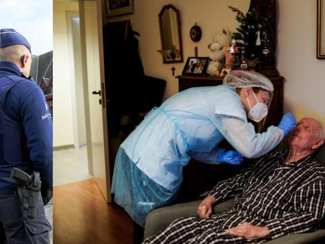 Nouvelle arnaque détectée par la police: de faux infirmiers s'incrustent dans le domicile de personnes âgées et pratiquent de faux tests !