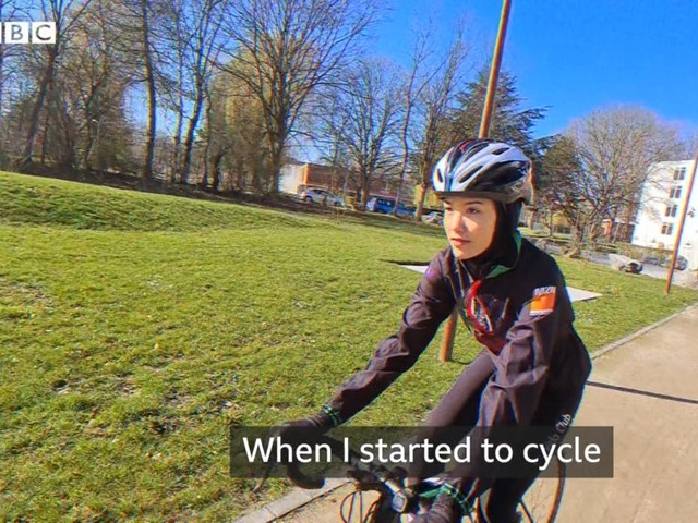 Interdite de cyclisme par les talibans, elle s'entraîne en France pour les JO de Tokyo