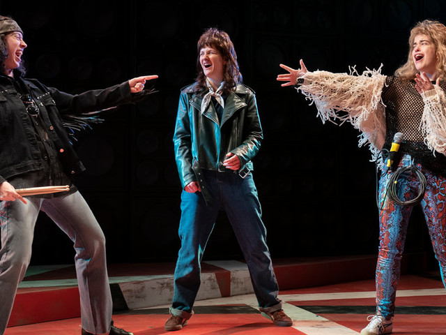 Review: In 'Eddie and Dave,' Van Halen Gets a Makeover