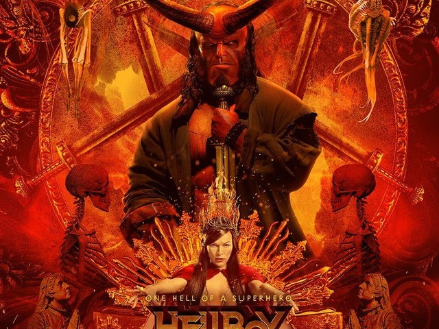 Hellboy : Un magnifique poster IMAX pour fêter le 'Hellboy Day' !