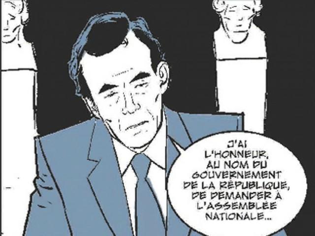 Bande dessinée: Badinter, ce héros de l'abolition de la peine de mort