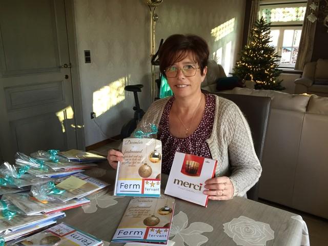Ferm Tervant viert jaarlijks kerstfeest thuis