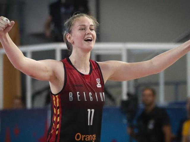 La joueuse de basket Emma Meesseman lauréate du «Joyau du sport flamand 2019»