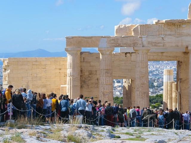 Renovatie aan de Akropolis valt de Grieken tegen