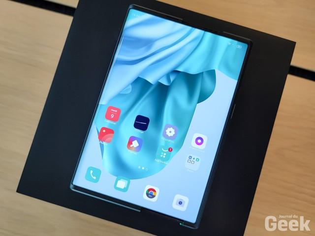 Oppo X 2021 : comment fonctionne son écran coulissant ?
