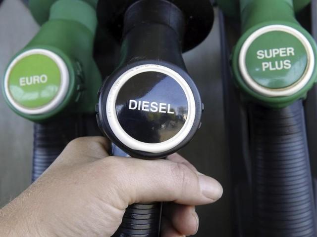 Le diesel moins cher mardi