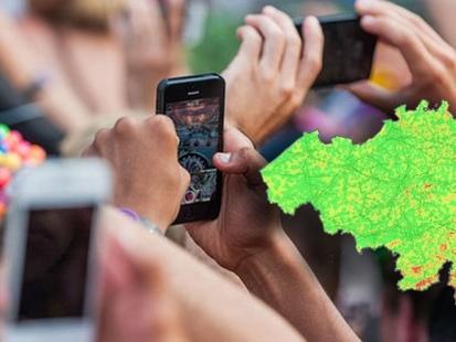 Couverture de nos réseaux mobiles : Telenet/Base progresse mais reste en retrait, Proximus en tête