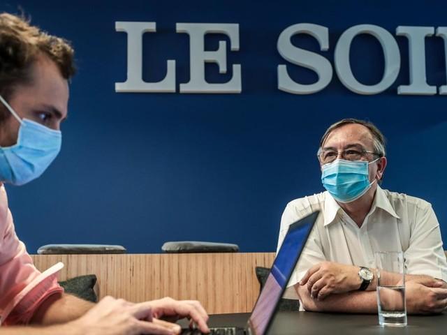 Yves Van Laethem au «Soir»: «Profitons de l'ivresse de l'été sans en abuser»