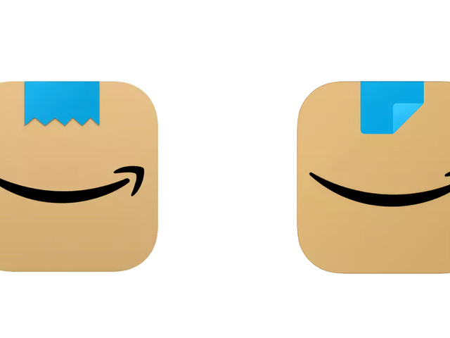 Amazon modifie l'icône de son application mobile qui rappelait... la moustache d'Hitler