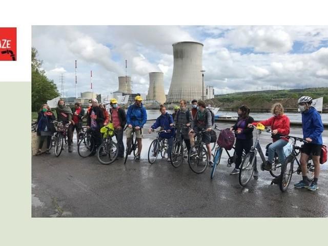 Aux Awirs et à Seraing, des activistes du climat contre les centrales au gaz