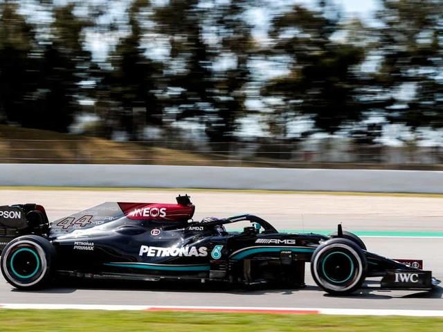 GP d'Espagne (Libres 2): Hamilton se manifeste, les Red Bull en retrait
