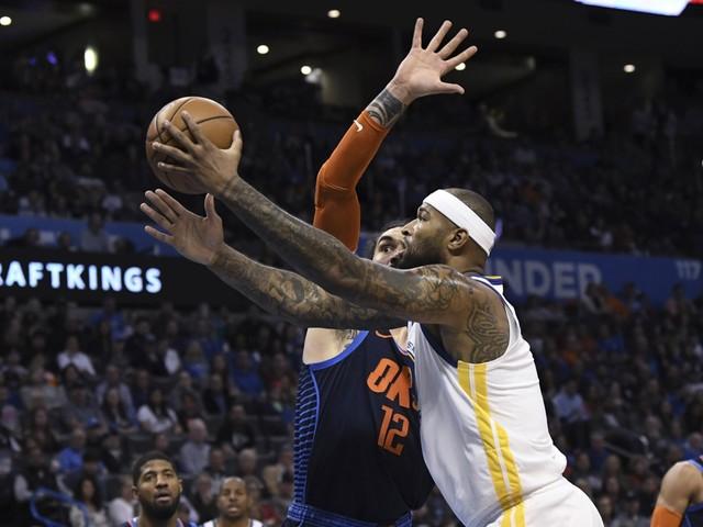 NBA. Kampioen Golden State heeft ticket voor play-offs beet
