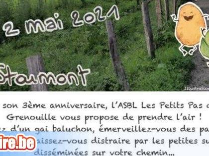 Balade / Pique nique au profit des 'Petits Pas De La Grenouille' asbl