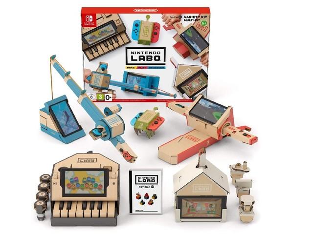 Bon plan : le Nintendo Labo Multi-Kit à 19,99 euros