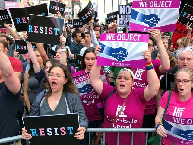 Donald Trump krijgt gelijk over omstreden regel: Amerikaanse leger mag transgenders weren