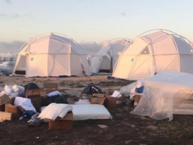 Merch Fyre Festival wordt geveild ten voordele van de gedupeerden