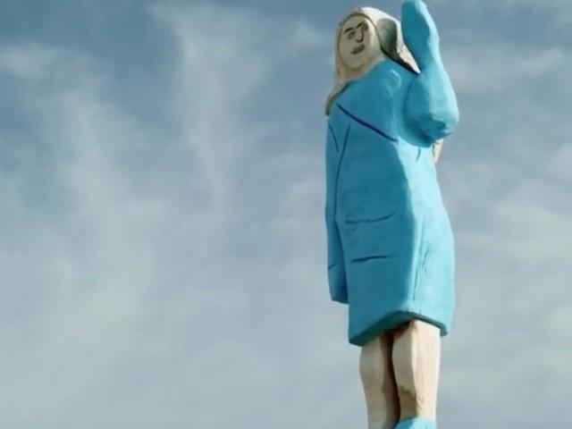 L'improbable statue de Melania Trump expliquée par l'artiste