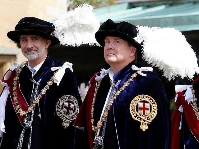 Nederlandse koning is ridder in Orde van de Kousenband