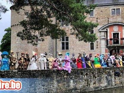 Costumés de Venise au Château de Lavaux