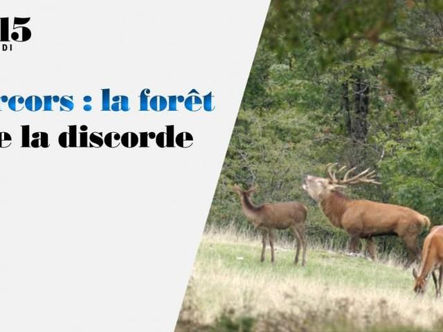 Reportage ce samedi à 13h15 sur France 2 : Vercors, la forêt de la discorde (vidéo).