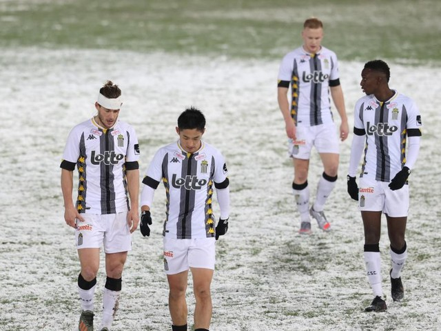 Charleroi se met en danger avec un troisième revers de rang
