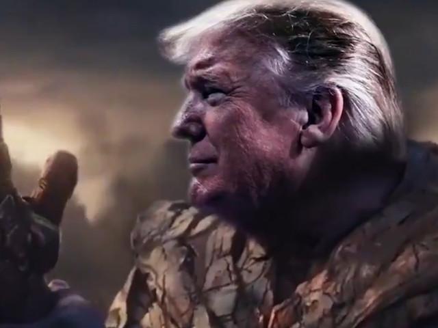 Trump vergelijkt zichzelf met Avengers-schurk: 'Ik ben onvermijdelijk'