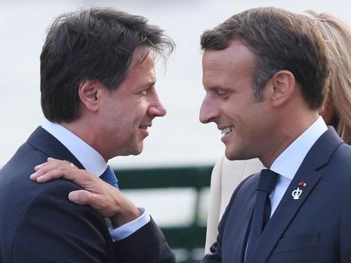 Le couple franco-italien se retrouve à Rome