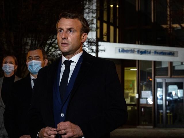 Macron na terreuraanslag: 'Het obscurantisme en het geweld zullen niet winnen'