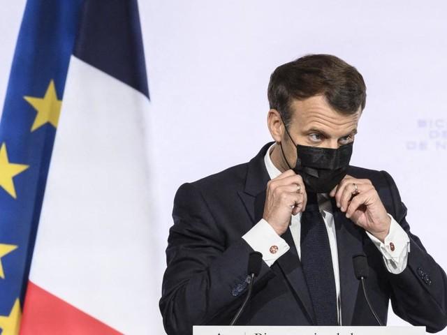 Vaccins: Macron se dit «tout à fait favorable» à la levée des brevets