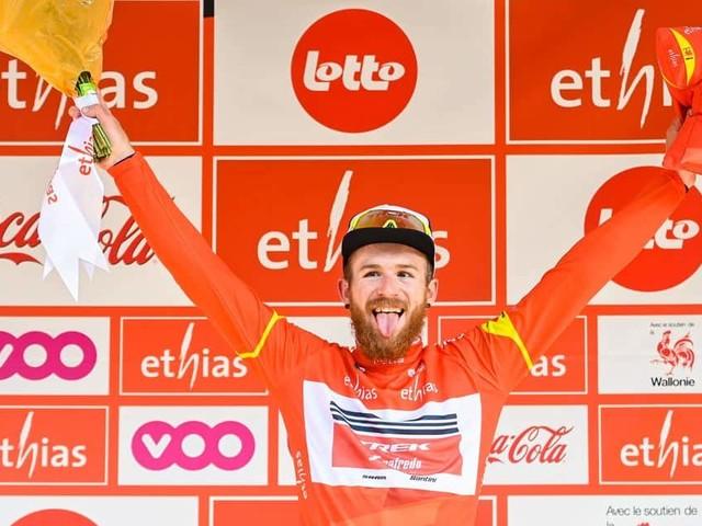 """Quinn Simmons attaqué mais toujours leader au Tour de Wallonie: """"J'ai été surpris"""""""
