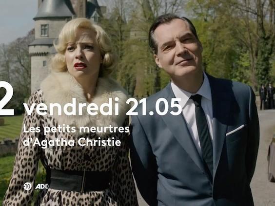 « Les petits meurtres d'Agatha Christie » du 23 juillet 2021 : ce soir l'épisode «Meurtre au champagne»