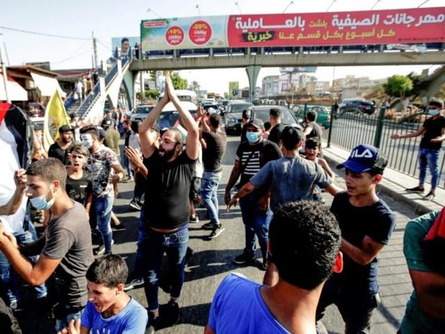 Liban: des Palestiniens manifestent contre des mesures anti-travail illégal