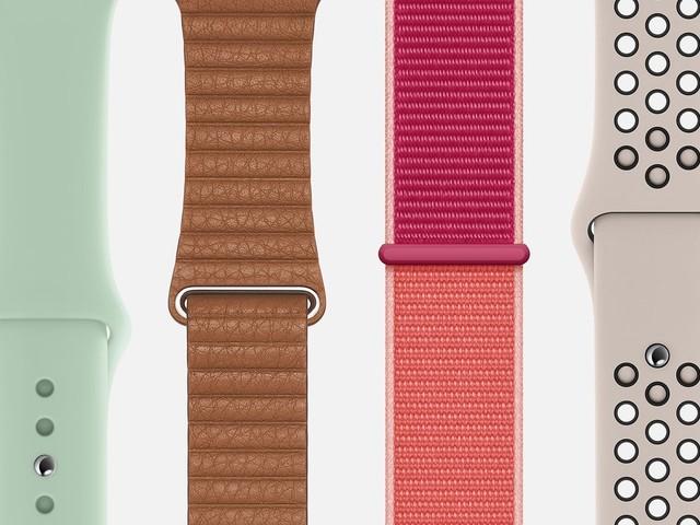 Apple ajoute de nouveaux coloris pour les bracelets Apple Watch et coques iPhone
