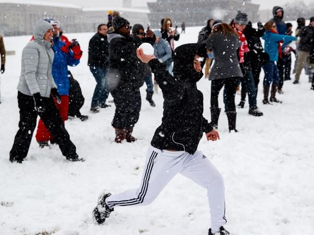 De nobele kunst van het sneeuwbalgevecht