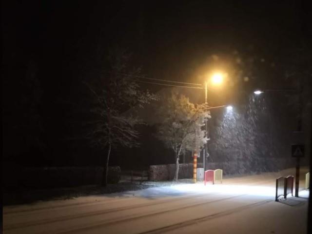 De eerste sneeuw in België is gevallen