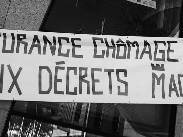 Mobilisation à Lorient mercredi contre les décrets Macron d'assurance chômage