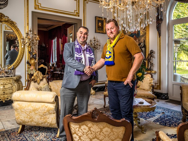 """Voorzitters van THES en Patro klaar voor derby: """"Als voorzitter moet je écht zot zijn"""""""