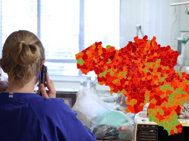 Les indicateurs coronavirus ne cessent de baisser en Belgique, mais qu'en est-il dans votre commune? Voici la situation près de chez vous ce vendredi
