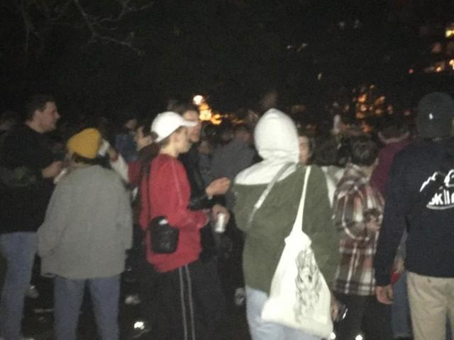Une centaine de jeunes rassemblés au Jardin Botanique ce jeudi soir à Liège (vidéo)