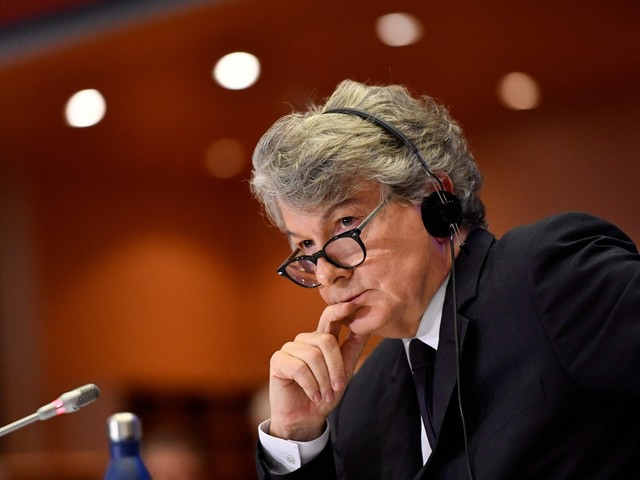Europarlementsleden zetten licht op groen voor Franse kandidaat-eurocommissaris Thierry Breton