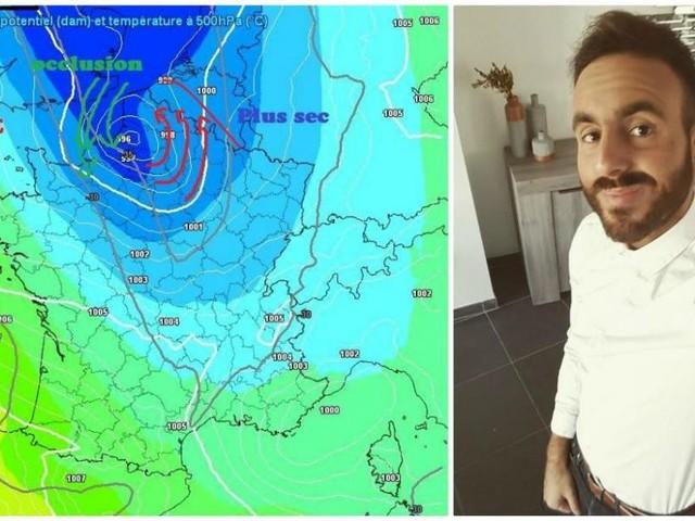 Farid de Météo-Mons l'annonce: «Une nouvelle salve neigeuse cette nuit et un beau bordel sur la route demain matin»