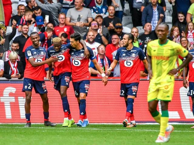 Ligue 1: Lille et Osimhen arrachent la victoire face à Nantes