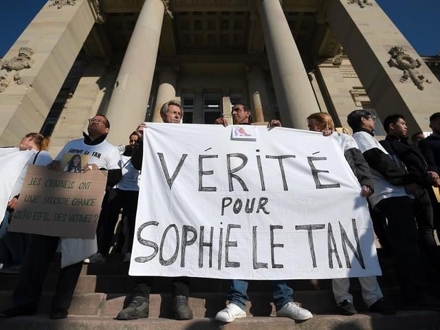 Affaire Sophie Le Tan : les pièces à conviction resteront dans le dossier
