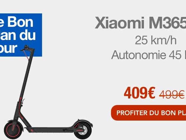 Bon plan : 90€ de remise sur la trottinette Xiaomi M365 Pro