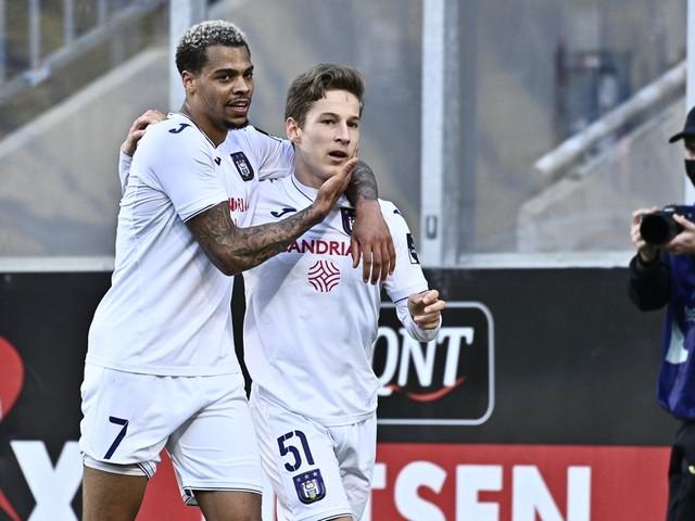 Anderlecht haalt Champions' play-offs, Moeskroen degradeert en AA Gent naar Europe play-offs
