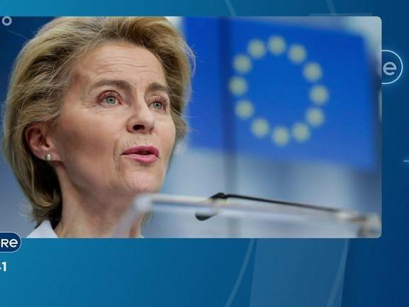 INVITE DANS L'ACTU - Interview d'Ursula von der Leyen, présidente de la Commission européenne - 01/12/2020